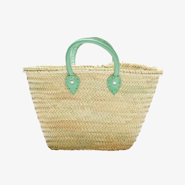 Mint Palm Barcelona French Market Basket