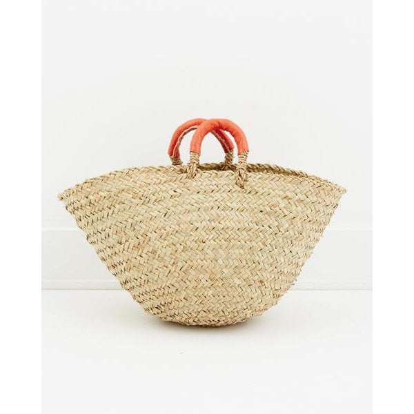 Orange Palm Contessa Cottage Basket