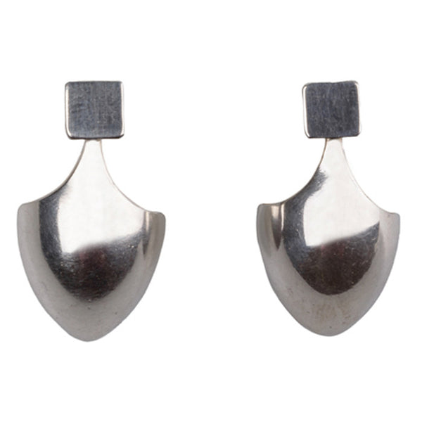 Silver Makasi Earrings