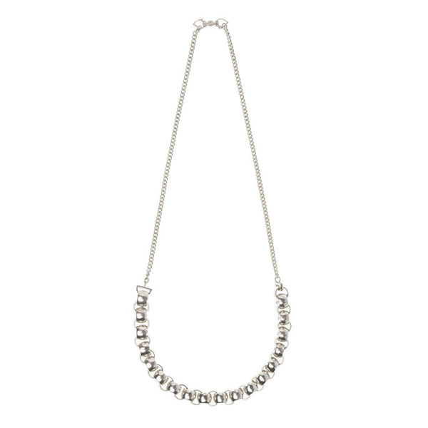 Silver Sikri Link Necklace