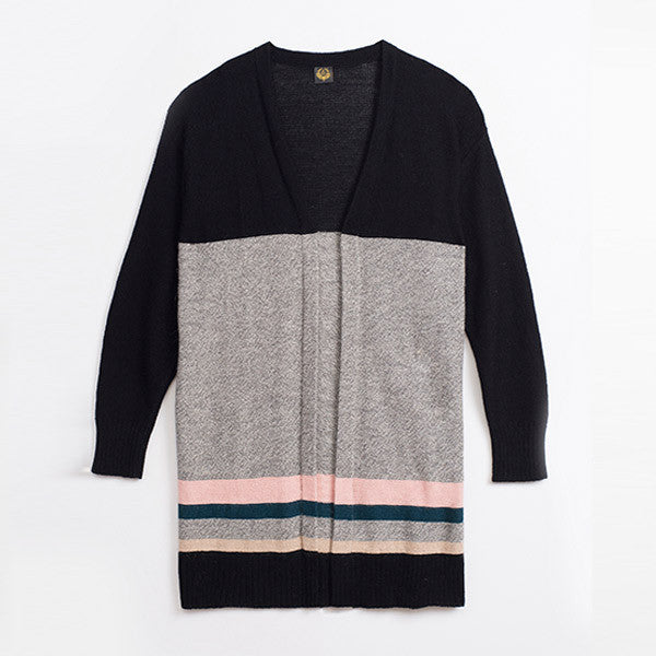 RANIA GREY SWEATER