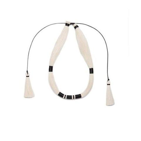 Raw Cotton Batz Mono Necklace