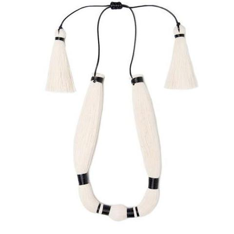 Raw Cotton Coz Gavilan Necklace