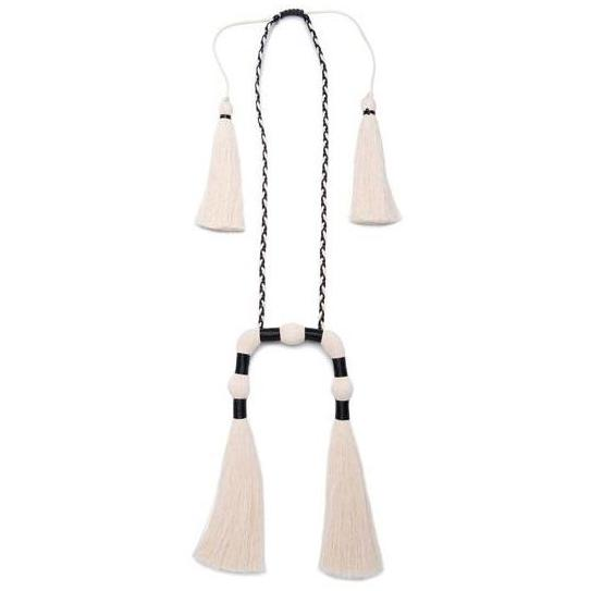 Raw Cotton Dzec Escorpion Necklace