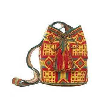 Aztec Cotton Cartagena Mochila Bag
