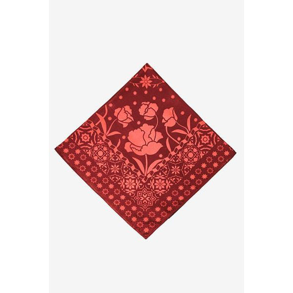 Red Silk Vagos Bandana