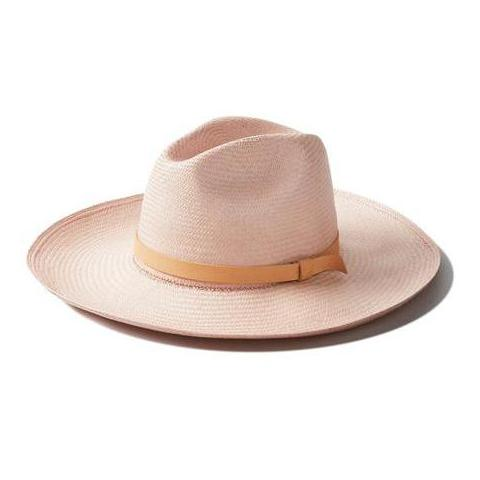 Rose Straw Panama Hat