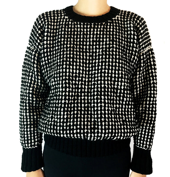 Black Roset Sweater