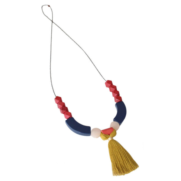 Navy Maizy Necklace