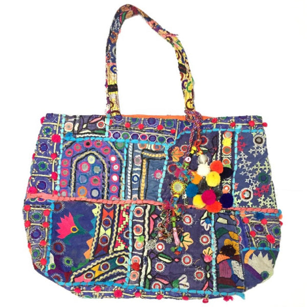 Purple Blue Pari Tote