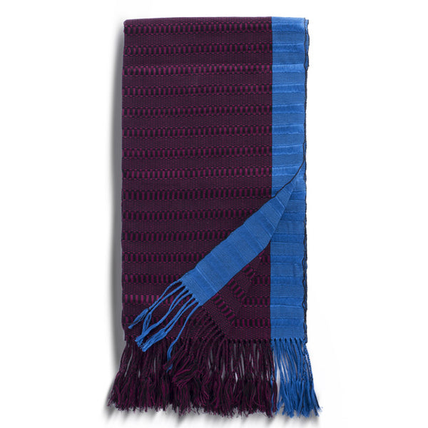 FABRICA SOCIAL, Cherry Wine Cotton Rebozo