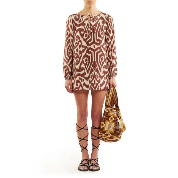 Brown Luce Tunic