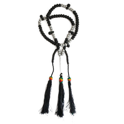 Large Prayer Beads Necklace