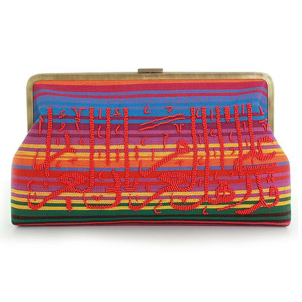 Calligraphy on Mexican Clutch Me Clutch