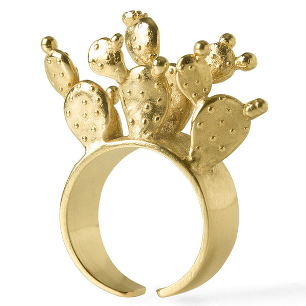 Gold Cactus Parado Ring