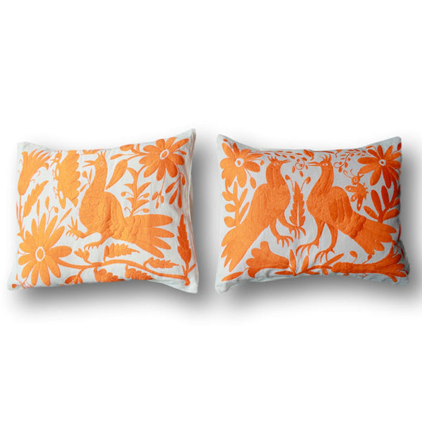 Orange Otomi Pillows - Set of 2