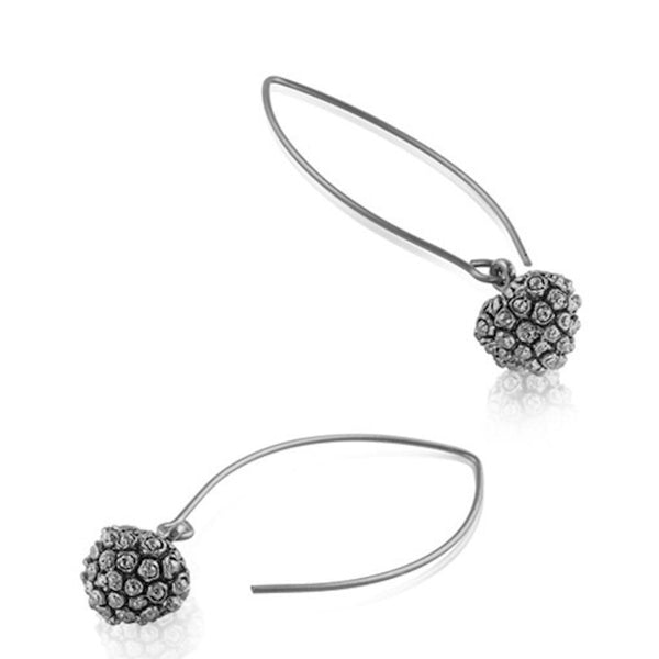 Kousa Dogwood Fruit Earrings - Silver