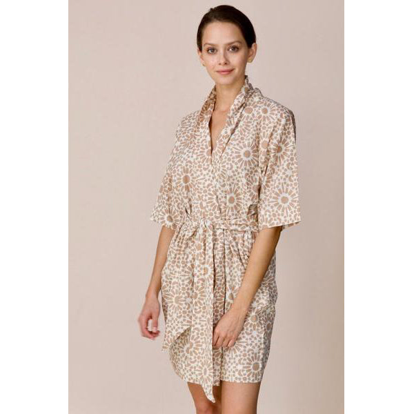 Sand Cotton Laos Robe Caftan