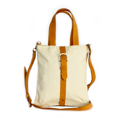 Kora Canvas Buckle Tote