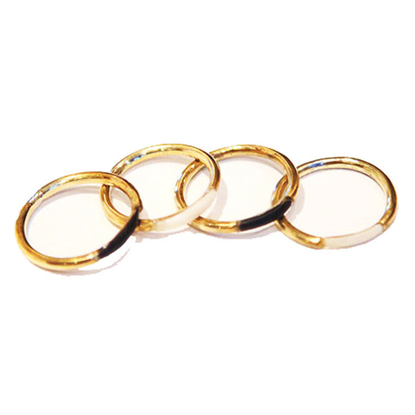 Horn Stacking Rings