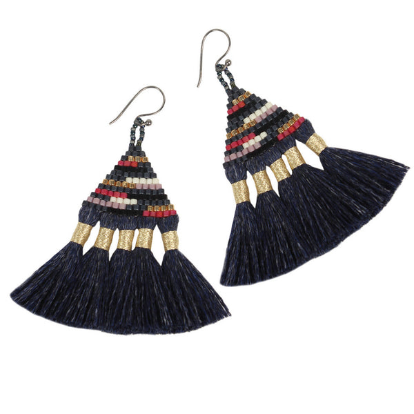 Denim Talitha Earrings