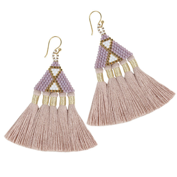 Lilac Talitha Earrings