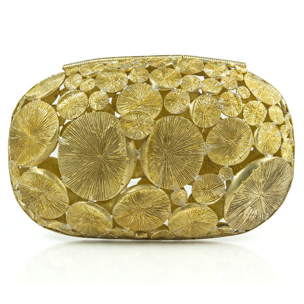 Gold Tulum Clutch