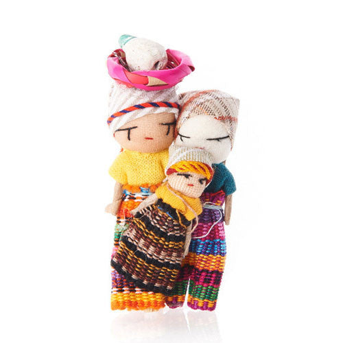 Cotton Worry Doll Magnet