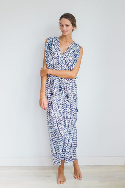 Vana Blockprint Caftan