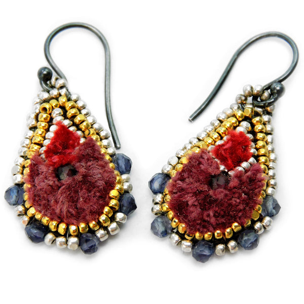 ISHI, Bloom Gota Earrings
