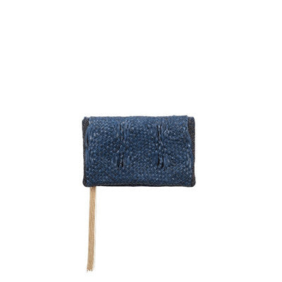 Blue Primordiale Mini Clutch