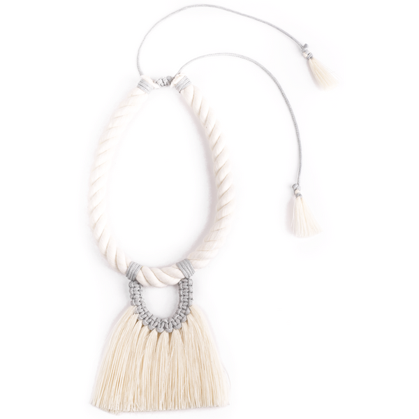 Grey Casada Corta Necklace
