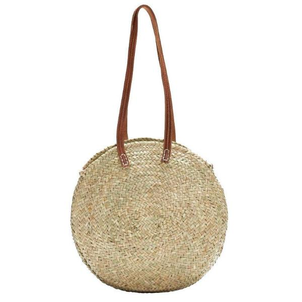 Lucena Oval Round Shopper Basket