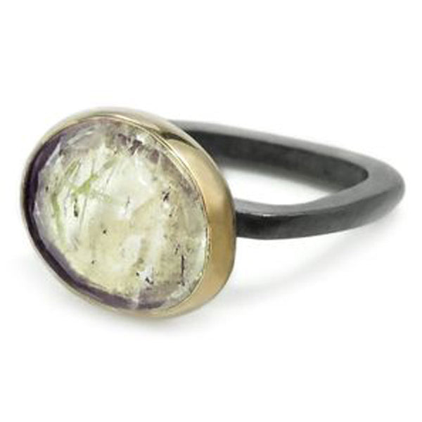 Rayado Rutile Quartz Ring