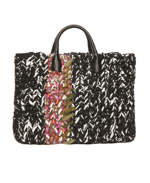Multi Wool Blend Peggy Sue Ikat Bag