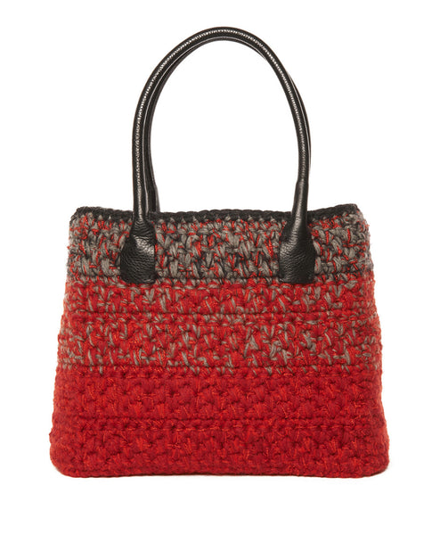 Multi Wool Blend Dorothy Bag