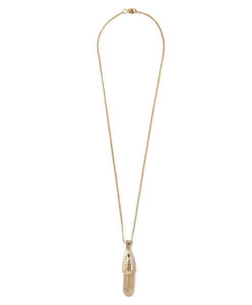 Golden Stalasso Silver Pendant Necklace