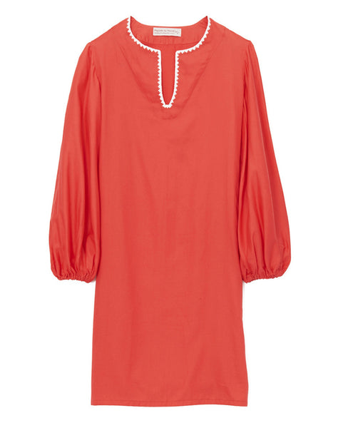 Migrants du Monde Coral Cotton Caftan