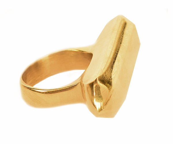 Brass Cleo Ring