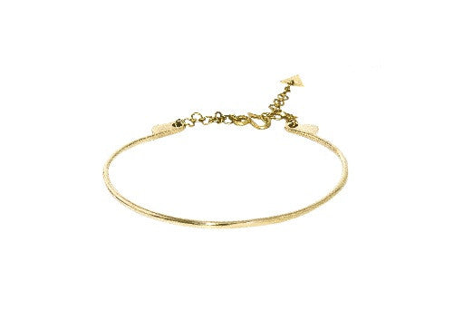 Brass Zizi Choker Necklace