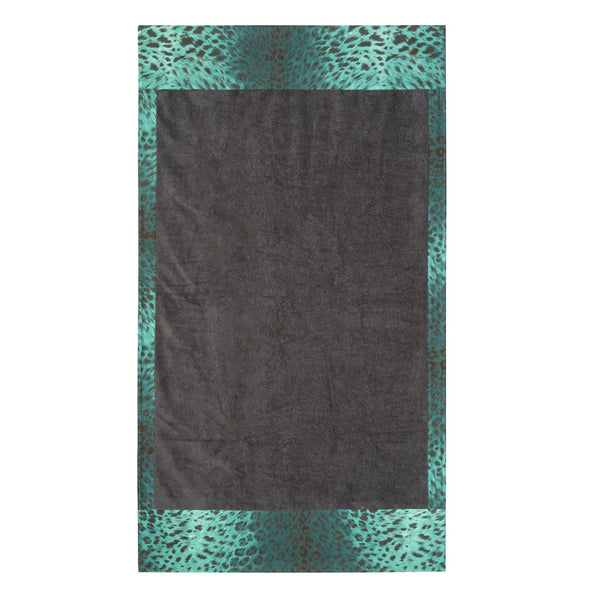 Feline Love Aqua Towel