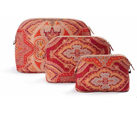 Large Paisley Cosmetic Pouch
