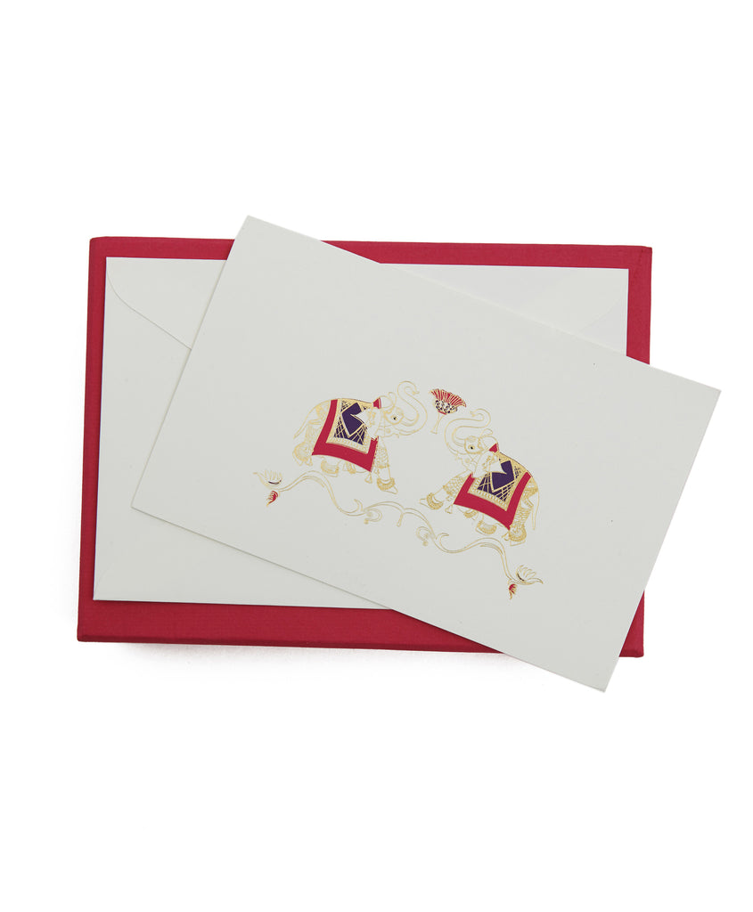 Elephant Stationery Set
