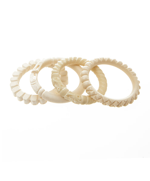 Camel Bone Bangle Bracelet
