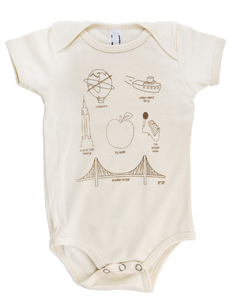 New York City Icon Onesie
