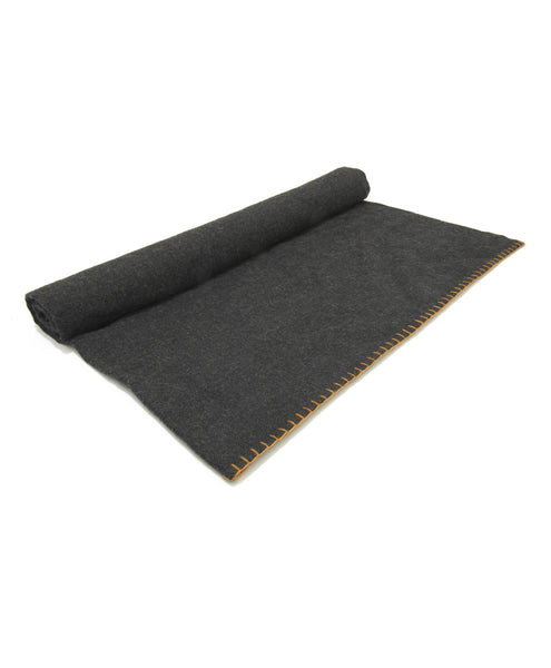 Charcoal Alicia Adams Alpaca Throw Blanket