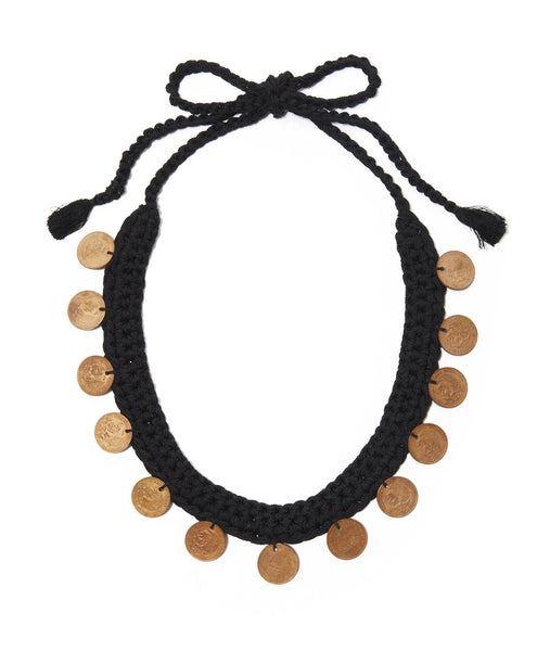 Black Gargantilla Del 20 Necklace