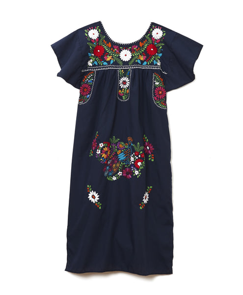 Multi Navy Long Tunic