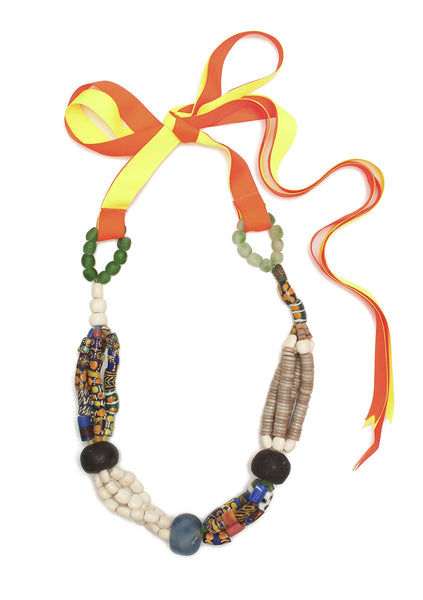 Guidemore Multi Natural Beaded Necklace