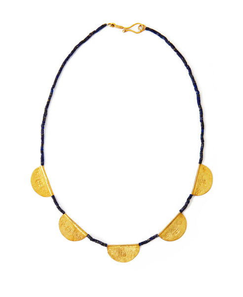 SHOP LATITUDE BAZAAR ISTANBUL, Navy Byzantine Necklace